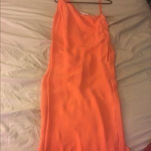 Dresses & Skirts - Diane von Furstenberg Long Coral Dress